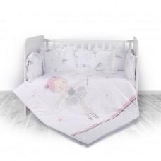 Lorelli 5-elements Bedding Set Ballet Pink