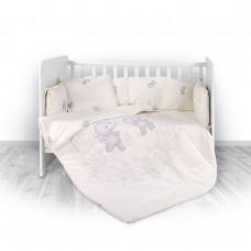 Lorelli 5-elements Bedding Set Happy Hippo