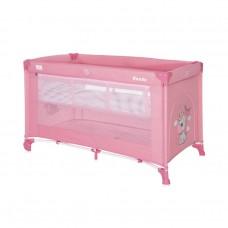 Lorelli Noemi 2 Layers Baby Travel Cot, pink