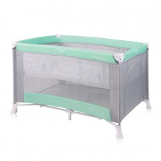 Lorelli Verona 2 Layers Baby Travel Cot Green