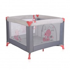 Lorelli Square baby playpen Game Zone Pink