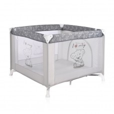 Lorelli Square baby playpen Game Zone Grey