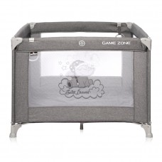 Lorelli Square baby playpen Game Zone grey Luxe