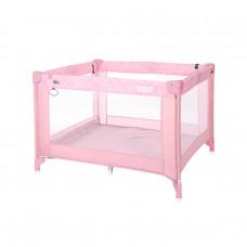 Lorelli Бебешка кошара за игра Play, розова