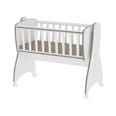 Lorelli First Dreams Baby cot-swing white and coffee