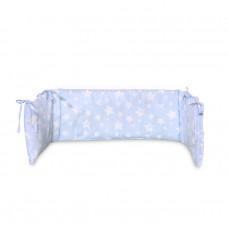 Lorelli Cot Bumper Uni 27/145 cm blue stars
