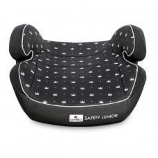 Lorelli Детска седалка за кола Safety Lunior Fix 15-36 кг, черна