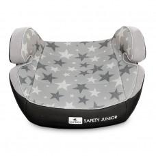 Lorelli Car Seat  Safety Lunior Fix 15-36 kg, grey stars
