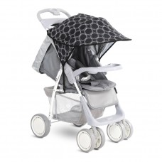 Lorelli Universal Canopy for stroller black circles