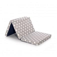 Lorelli Foldable Mattress grey dots