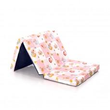 Lorelli Foldable Mattress pink Bears