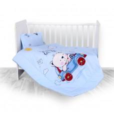 Lorelli 3-elements Bedding Set Bear blue