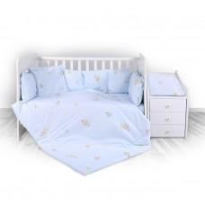 Lorelli 5-elements Bedding Set Trend Bear Party Blue