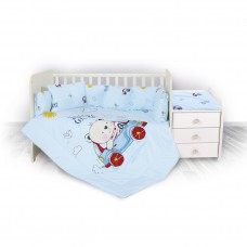 Lorelli 5-elements Bedding Set Trend bear and car