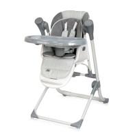 Lorelli Ventura Baby High Chair, grey stars