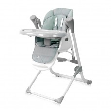 Lorelli Ventura Baby High Chair, green stars