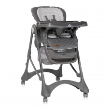 Lorelli Appetito Baby High Chair, grey