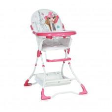 Lorelli Bonbon Pink Girl Baby High Chair