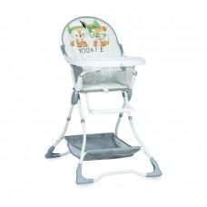 Lorelli Bonbon Grey Foxes Baby High Chair
