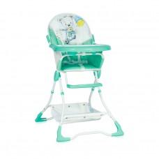 Lorelli Бебешко столче за хранене Bonbon Green Perfect Day