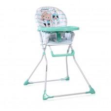 Lorelli Cookie Baby High Chair, Aquamarine