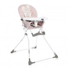Lorelli Cookie Baby High Chair, pink hug