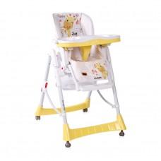 Lorelli High Chair Gusto yellow Giraffe