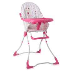 Lorelli Marcel Baby High Chair pink