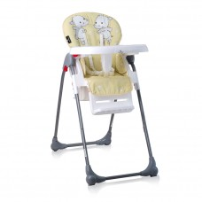 Lorelli Oliver Baby High Chair Yellow