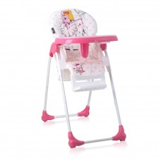 Lorelli Oliver Baby High Chair Pink