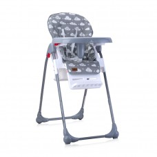 Lorelli Oliver Baby High Chair grey clouds