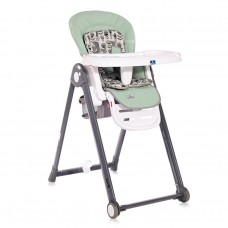 Lorelli Party Baby High Chair, frosty green