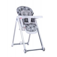 Lorelli Party Grey Stars Baby High Chair