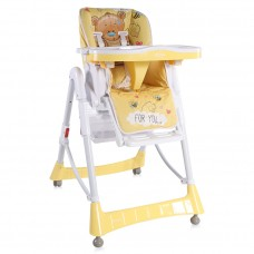 Lorelli Primo Baby High Chair Yellow