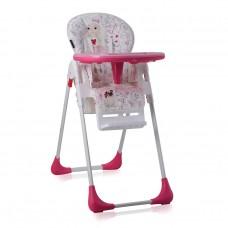 Lorelli Tutti Frutti Baby High Chair pink girl