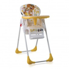 Lorelli Tutti Frutti Baby High Chair yellow bears