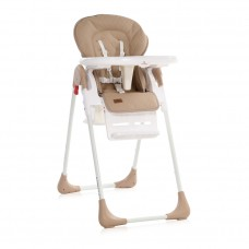 Lorelli Tutti Frutti Baby High Chair, beige leather