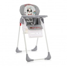 Lorelli Tutti Frutti Baby High Chair, grey penguin