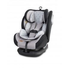 Lorelli Car Seat Corsica Isofix 0-36 kg Grey crowns