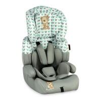Lorelli Детски стол за кола Junior Plus 9-36 kg сив