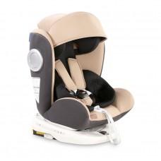 Lorelli Детски стол за кола Lusso SPS Isofix 0-36 кг beige and black