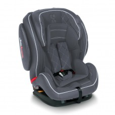Lorelli Стол за кола Mars+SPS Isofix Dark Grey Leather 9-36кг.