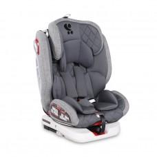 Lorelli Детски стол за кола Roto Isofix 0-36 кг сив