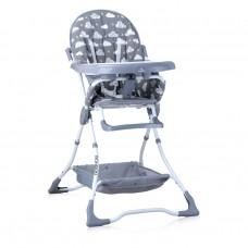Lorelli Bonbon Baby High Chair Grey clouds