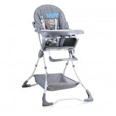 Lorelli Bonbon Baby High Chair Grey bear