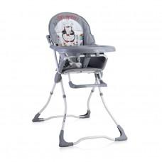 Lorelli Marcel Baby High Chair grey penguin