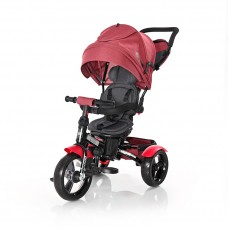 Lorelli Tricycle Neo Eva wheels, red luxe