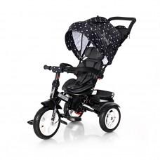 Lorelli Tricycle Neo Air wheels, black crowns