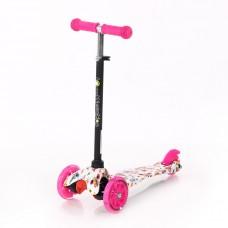 Lorelli Scooter Mini, pink butterflies