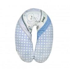 Lorelli Възглавница за кърмене 190 см синя